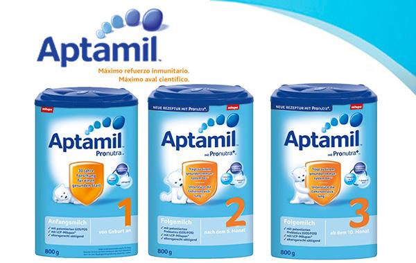 Sữa tăng chiều cao Aptamil Đức