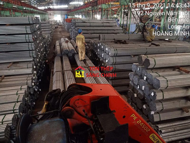 Báo giá thép ống mạ kẽm Nam Kim